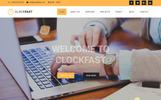 "Joomla Vorlage namens ""ClockFast - Multipurpose Responsive"""