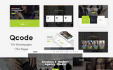 "Responzivní Joomla šablona ""Qcode - Responsive MultiPurpose Business With Page Builder 