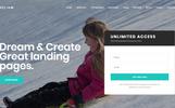"""Helium - 10 in 1 Multipurpose Joomla Landing Pages Template | Corporate"" thème Joomla adaptatif"