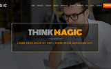 "Joomla Vorlage namens ""Magic - Multipurpose Onepage With Page Builder 