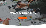 """""""Salimo - Creative One Page Parallax  With Page Builder 