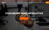 "Joomla Vorlage namens ""TeecBuz - Business Onepage Multi-Purpose Helix Ultimate | Business"""