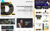 "Joomla Vorlage namens ""Dana - Corporate Business Multi-Purpose Responsive Joomla Template with Page Builder 