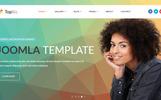 Responsywny szablon Joomla TopBiz - Responsive Corporate #80117