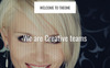 "Joomla Vorlage namens ""Theone - One Page Parallax With Page Builder 