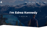 Responsive Edrea - Personal Portfolio With Page Builder | Portfolio Joomla Şablonu