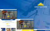 """Construction & Building Business"" Responsive Joomla Template"