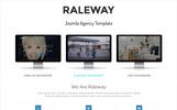 Raleway - Using Framework Joomla Template