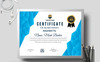 Mark Barker Creative Certificate Template Big Screenshot