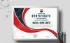 Michel Smith Creative Certificate Template Big Screenshot