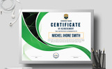 Michel Smith Creative Certificate Template