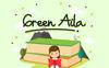 """Font """"Green Aila"""" Velký screenshot"""