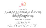 """""""Sild Beauty"""" Lettertype"""