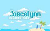 """Font """"Joscelynn"""""""