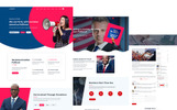 Policy - Political PSD Template