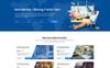 """""""Depart - Travel"""" PSD Template Groot  Screenshot"""