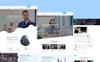 Bootstrap Meuts Corporate PSD-mall En stor skärmdump