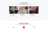 """Direct - Directory"" modèle PSD Bootstrap"