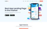 Bootstrap szablon PSD Appou - App #78991