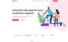 Bootstrap szablon PSD Appou - App #78991 Duży zrzut ekranu