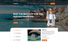 """Bahon - Travel Agency"" BootstrapPSD模板 大的屏幕截图"