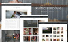 Rustic Paradise Wedding Venue PSD Template Big Screenshot