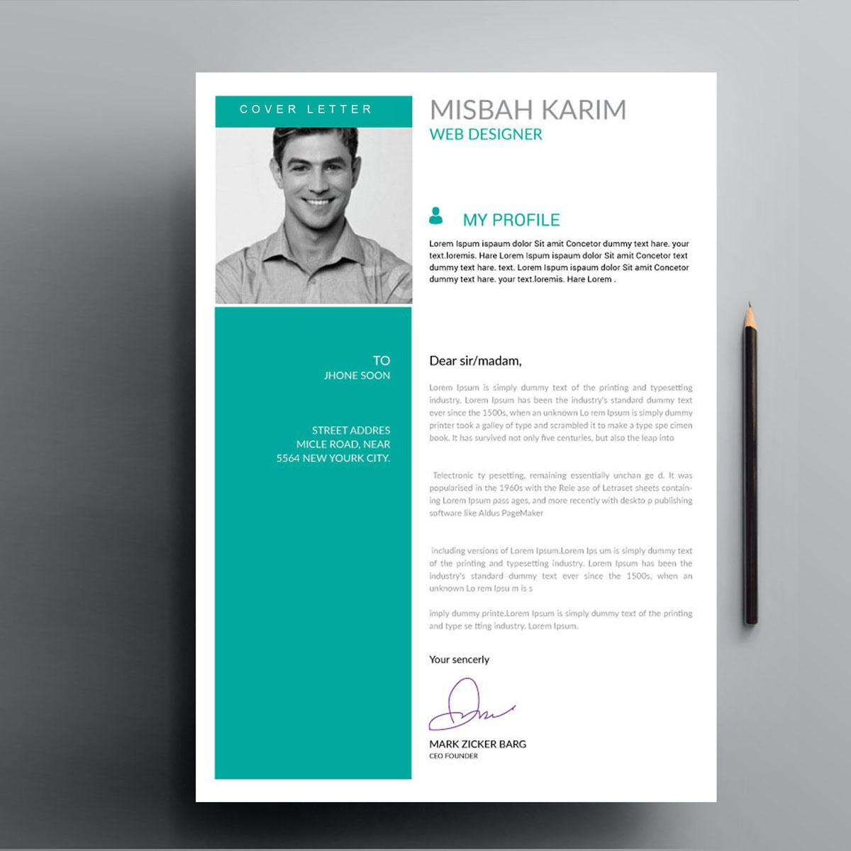 Misbah Karim Resume Template #82428