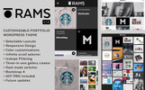 "WordPress Theme namens ""RAMS - Portfolio"""