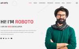 Aports - Personal Portfolio Landing Page WordPress Theme