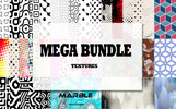 Big Texture Pack - 1121 Backgrounds and Textures Illustration