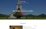 """Righterra - Religion Bootstrap 4"" Responsive Website template"