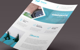 Shape Band -  Flyer Template de Identidade Corporativa  №82272