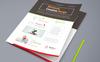 Bostrap -  Best Clean Flyer ] Corporate Identity Template Big Screenshot
