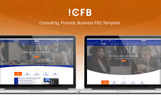 ICFB Consulting Template Photoshop  №78866