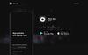 Automatic App Landing Page-mall En stor skärmdump
