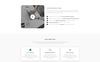 """Responzivní Šablona mikrostránek """"Muna - Business"""" Velký screenshot"""
