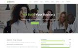 Plantilla Web para Sitio de Negocio y Servicios