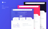 Zaha - Agency and SaaS Website Template