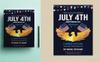 """""""4th of July Flyer"""" Bedrijfsidentiteit template Groot  Screenshot"""