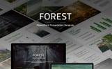 """PowerPoint Vorlage namens """"Forest-"""""""