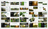 "Template PowerPoint Responsive #79237 ""Forest-"""