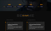 Pansy - Personal Landing Page Template Big Screenshot