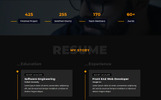 Pansy - Personal Templates de Landing Page  №79810