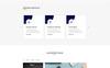 Reszponzív Glaxose - Business Agency Nyítóoldal sablon Nagy méretű képernyőkép