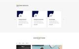 Reszponzív Glaxose - Business Agency Nyítóoldal sablon