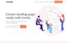 Responsywny szablon Landing Page Tenda - App #79951 Duży zrzut ekranu