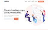 Tenda - App Templates de Landing Page  №79951