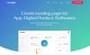Tenda - App Templates de Landing Page  №79951 Screenshot Grade