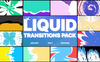 """Modello After Effects Intro #80435 """"Liquid Transitions Pack For"""" Screenshot grande"""