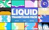 Liquid Transitions Pack For After Effects com Introdução №80435 Screenshot Grade